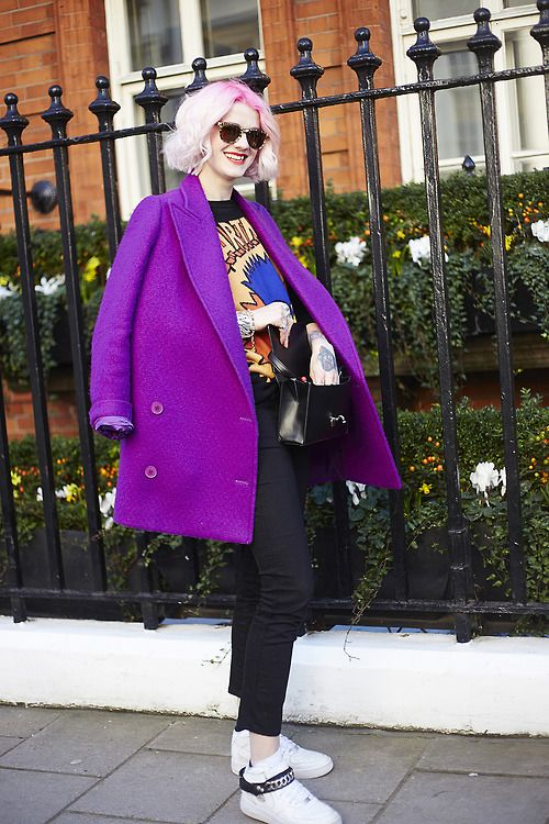 A key colour for now and the season ahead: Purple is our new fashion crush.