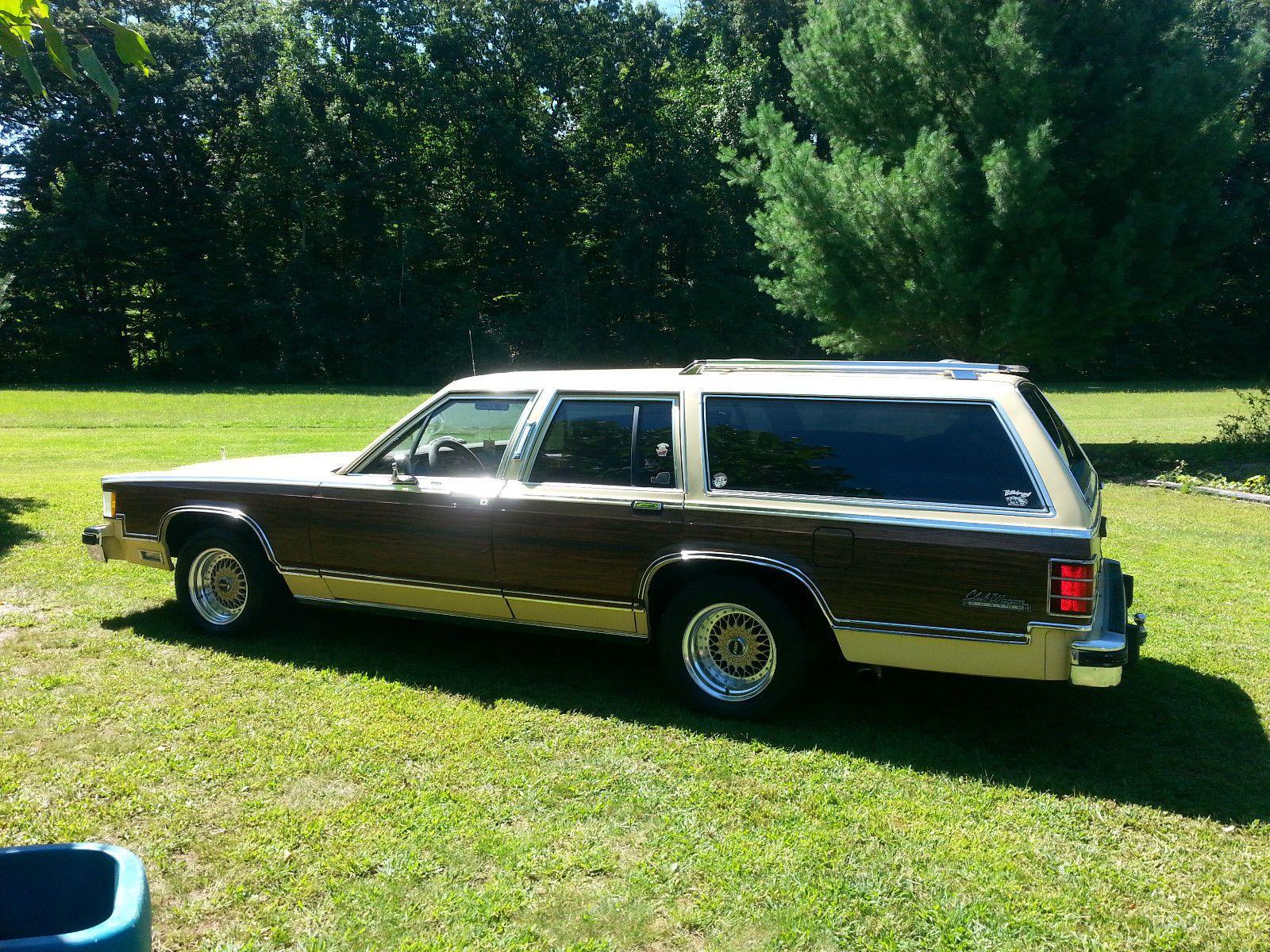 '81 Mercury Woody Grand Marquis Colony Park Wagon