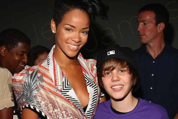 Justin dating rihanna