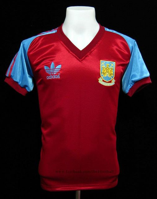 West Ham 1982 Home shirt New Football Shirts 2098edb1b