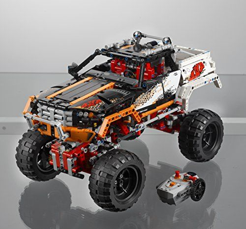 2 Models In 1 Building Instructions For 4x4 Crawler Included