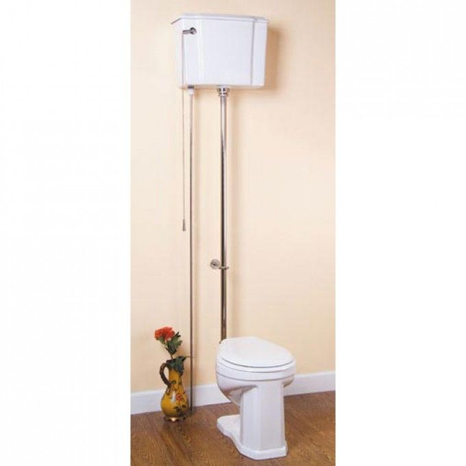 High Tank Pull Chain Toilet High Tank Water Closet  Pull Chain Toilets  Toilets And Bidets