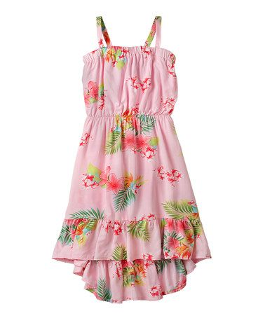 00600204e97 This Pink Icing Floral Dress - Girls by RUUM is perfect!  zulilyfinds