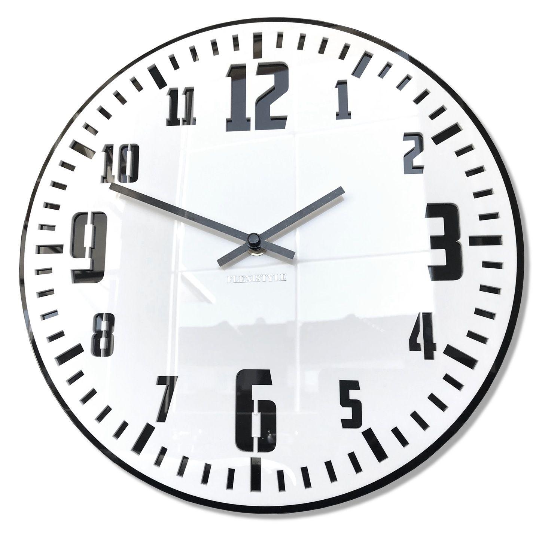 Duzy Nowoczesny Zegar Scienny Unique Polysk Black 7628849352 Oficjalne Archiwum Allegro Clock Wall Clock Wall