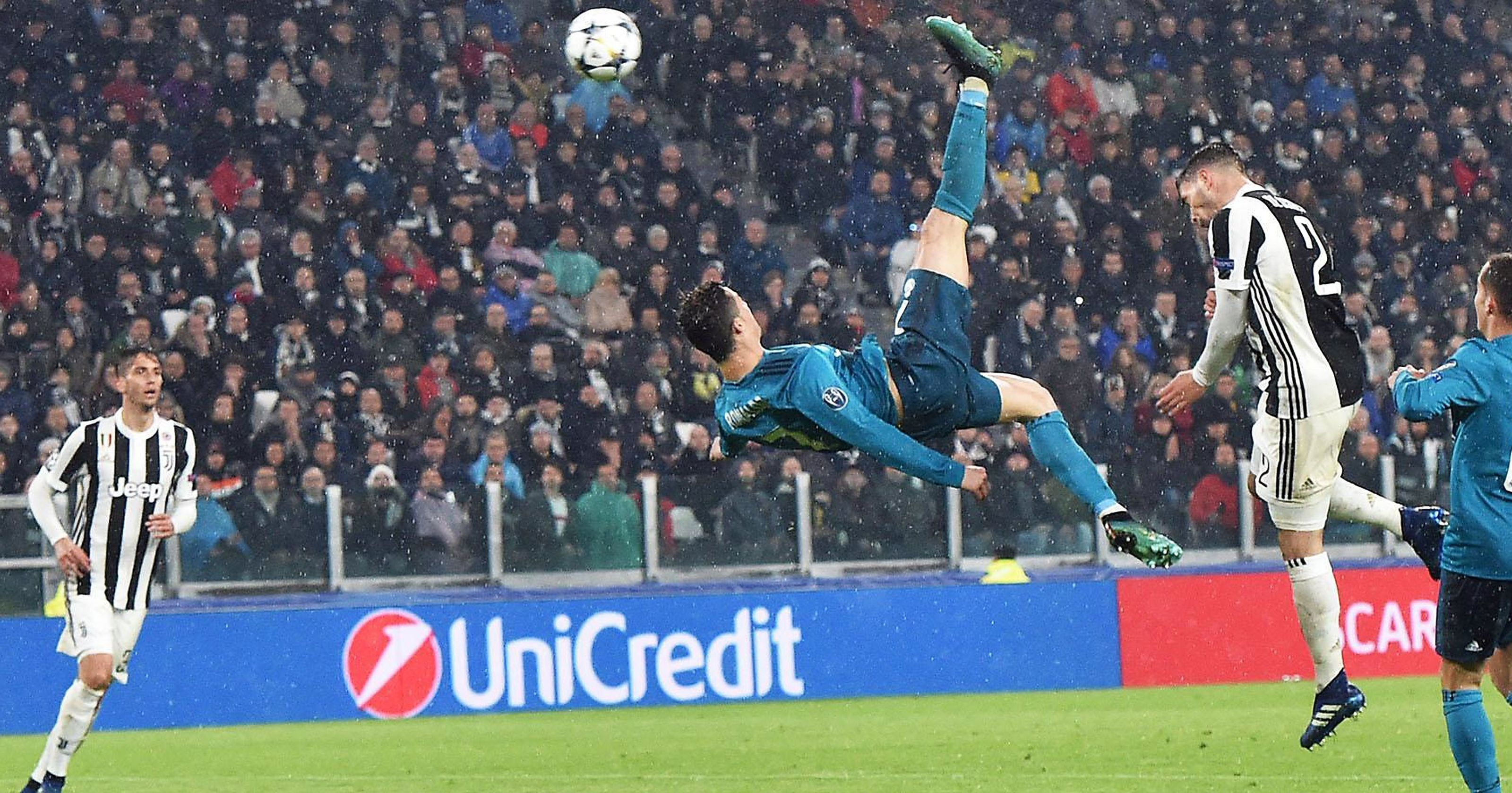 UEFA chọn bàn thắng đẹp, Ronaldo vô đối