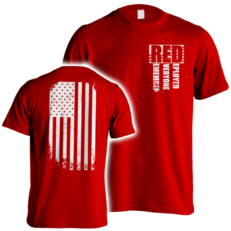 Until They All Come Home RED Friday Military  RED Friday  Support our Troops  Army  usmc  Deployment  USA men/'sunisex t-shirt