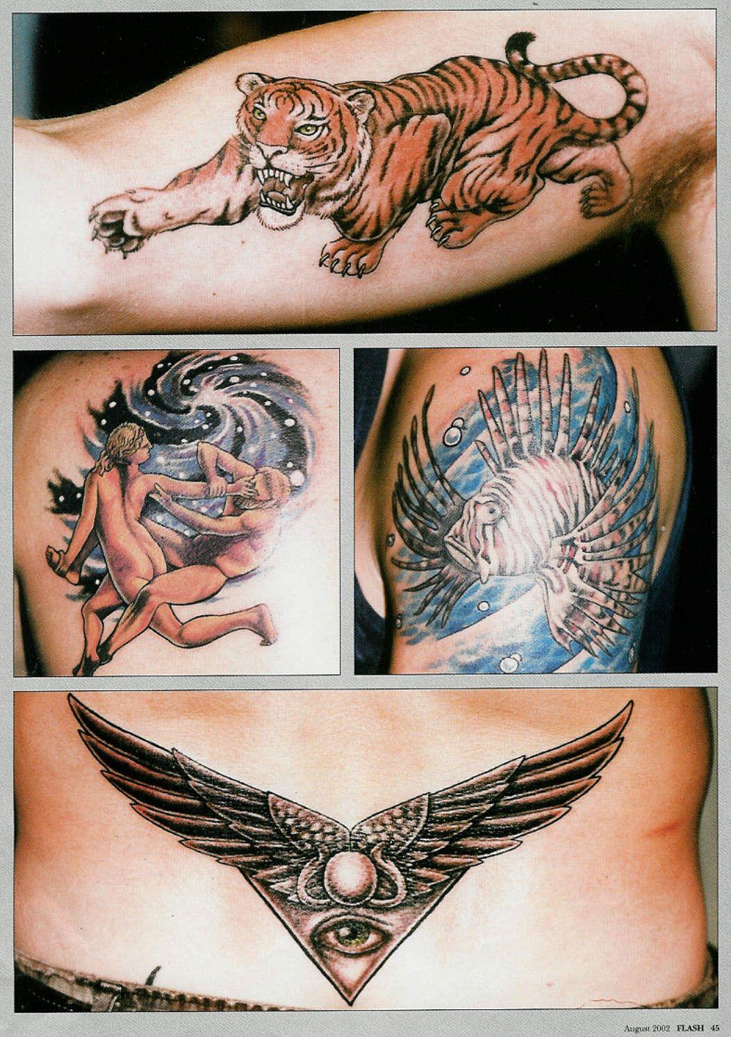 More Articles On Me Erika Stanley's Art & Tattoos Тату