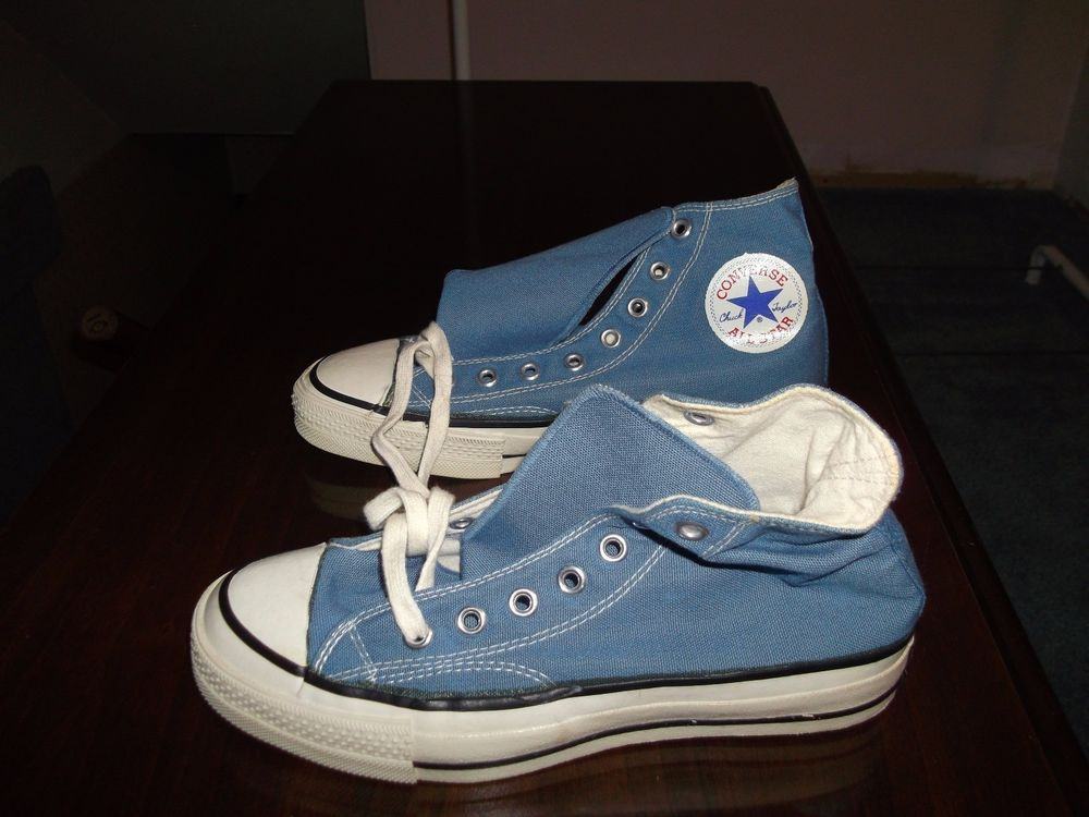 3d4f861de3bc Vintage (New Old Stock) Converse Chuck Taylor USA 60 s - 70 s blue label  Size 6  Converse  Athletic