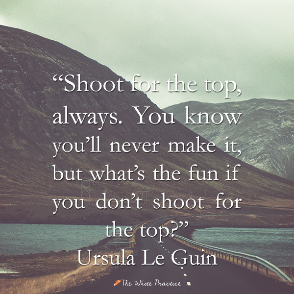 10 Quotes About Writing from Ursula Le Guin PhD