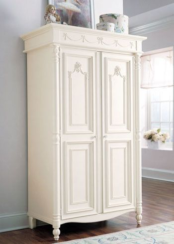 Stanley Young America Isabella Armoire with 14 Doors traditional