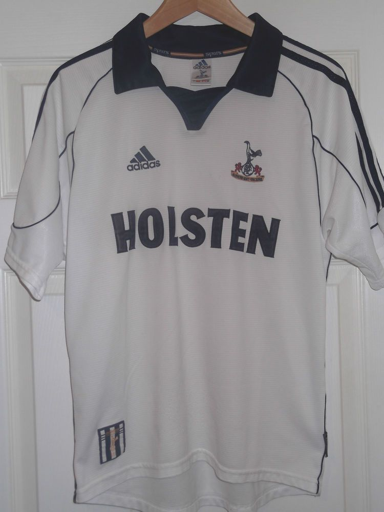 b70cdccab Adidas Tottenham Hotspur Spurs Retro Holsten Small Mens Home Short Sleeve  Shirt
