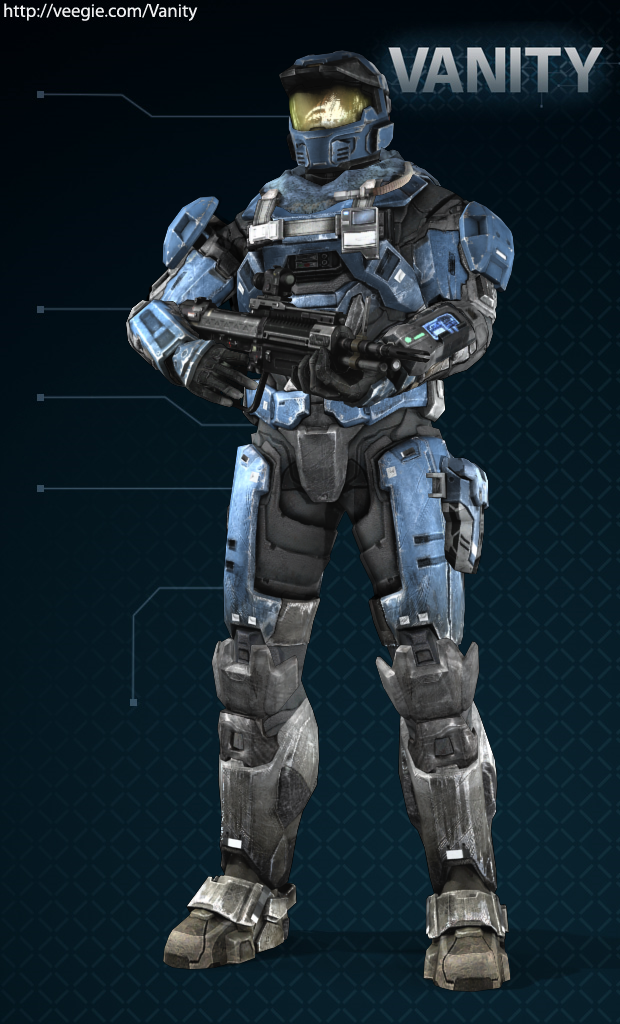 Image Result For Halo Reach Customization Armor Emile Themed
