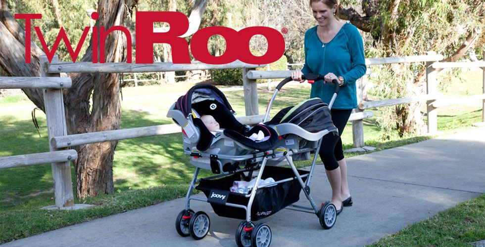 Joovy - Twin Roo Infant Car Seat Frame Stroller | Stuff to Buy ...