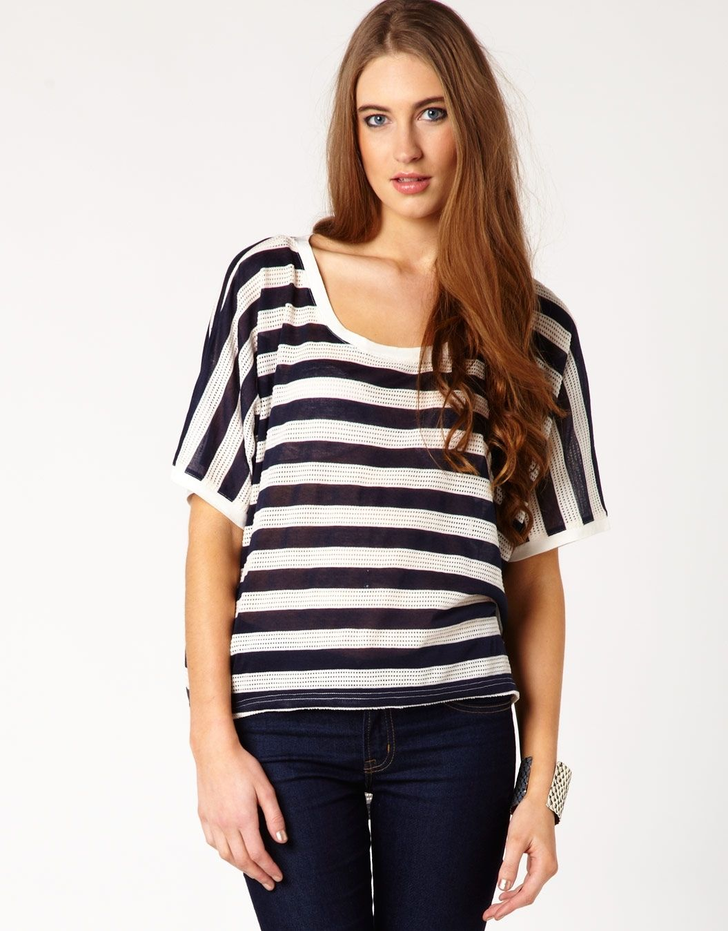 Glassons - Cropped Stripe Tee ($24.99)