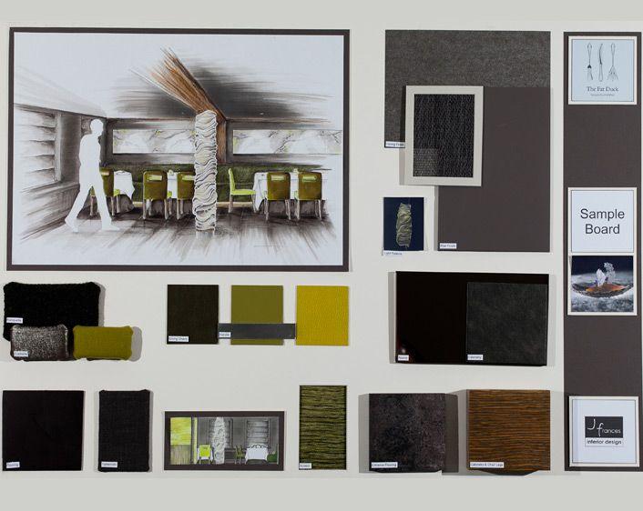 Sample Board Interior Design Presentation Interior Design Template Materials Board Interior Design