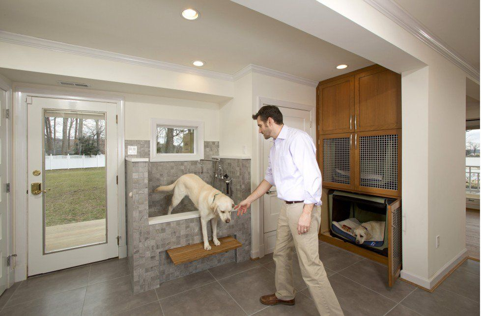 I Like The Built In Dog Tub But A Window Overhead I Bet They
