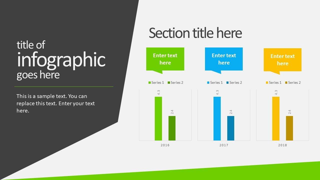 Free Animated Business Infographics Powerpoint Template Slidemodel Business Infographic Powerpoint Templates Free Infographic Templates