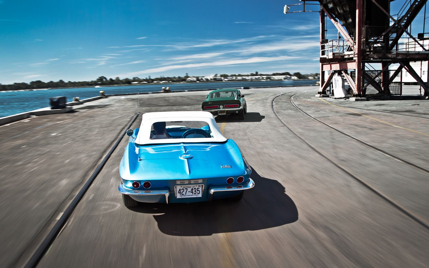 1967 Shelby Gt500 Vs 1967 Corvette Sting Ray 427 Chevy Corvette