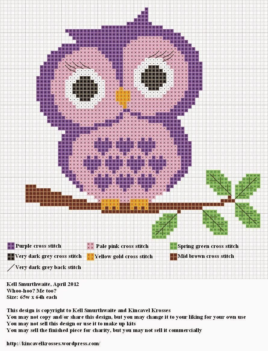 Cross Stitch Craze: Owls - Free Patterns | Cross Stitch Craze ...
