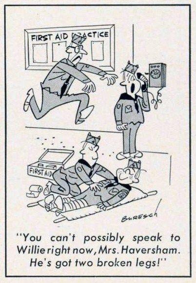 Cartoon-1965-First-Aid