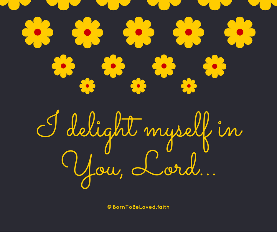 I delight myself in You, Lord... #BornToBeLoved #faith #delight #petals #zuzupetals #yellow #sunday #sundaynight #sundaynightdinner #grateful