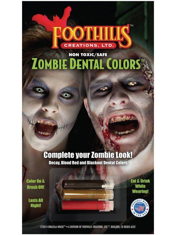 Zombie Dental Color Makeup Set
