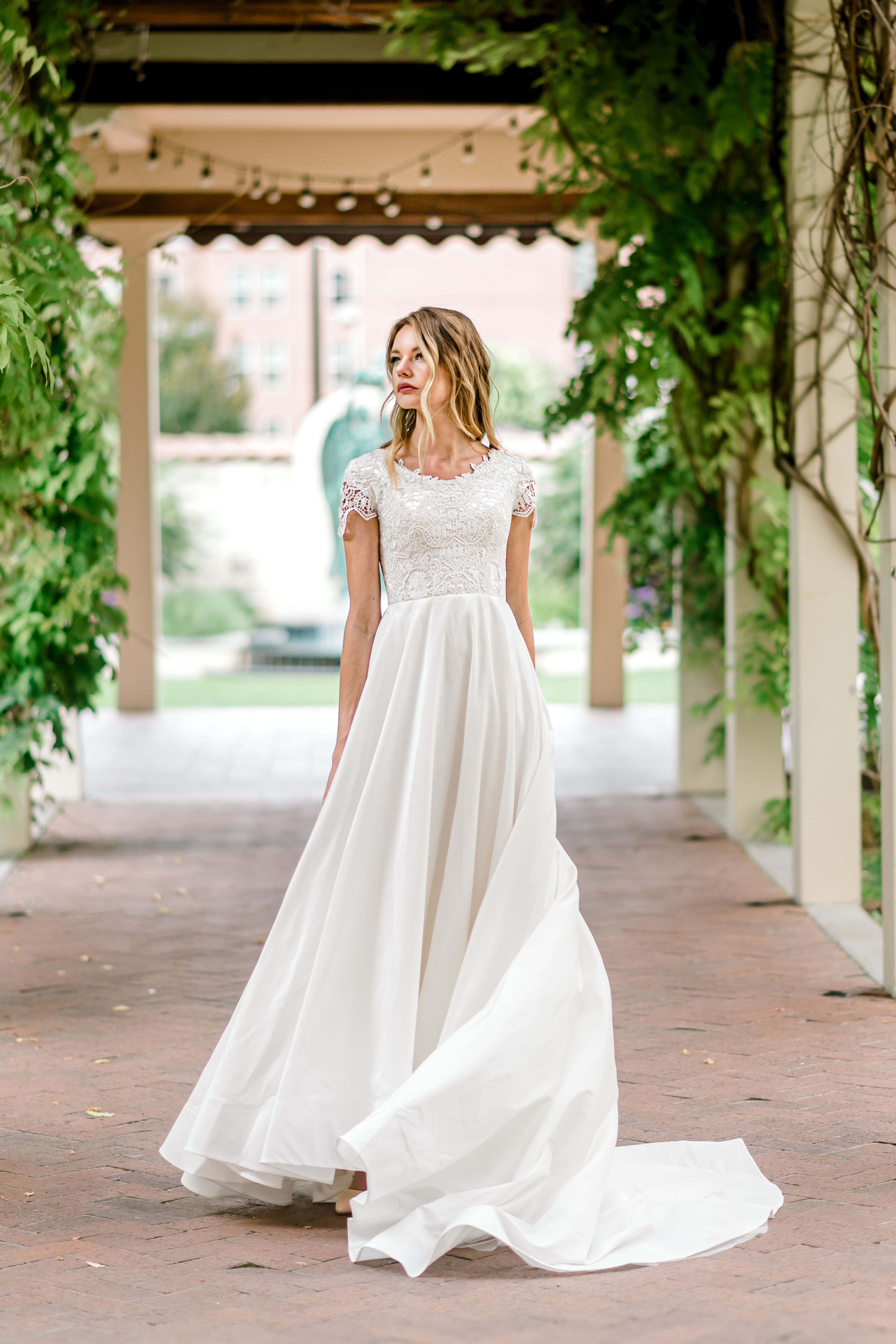 Mariah gown by Elizabeth Cooper Design Beautifully Dunn
