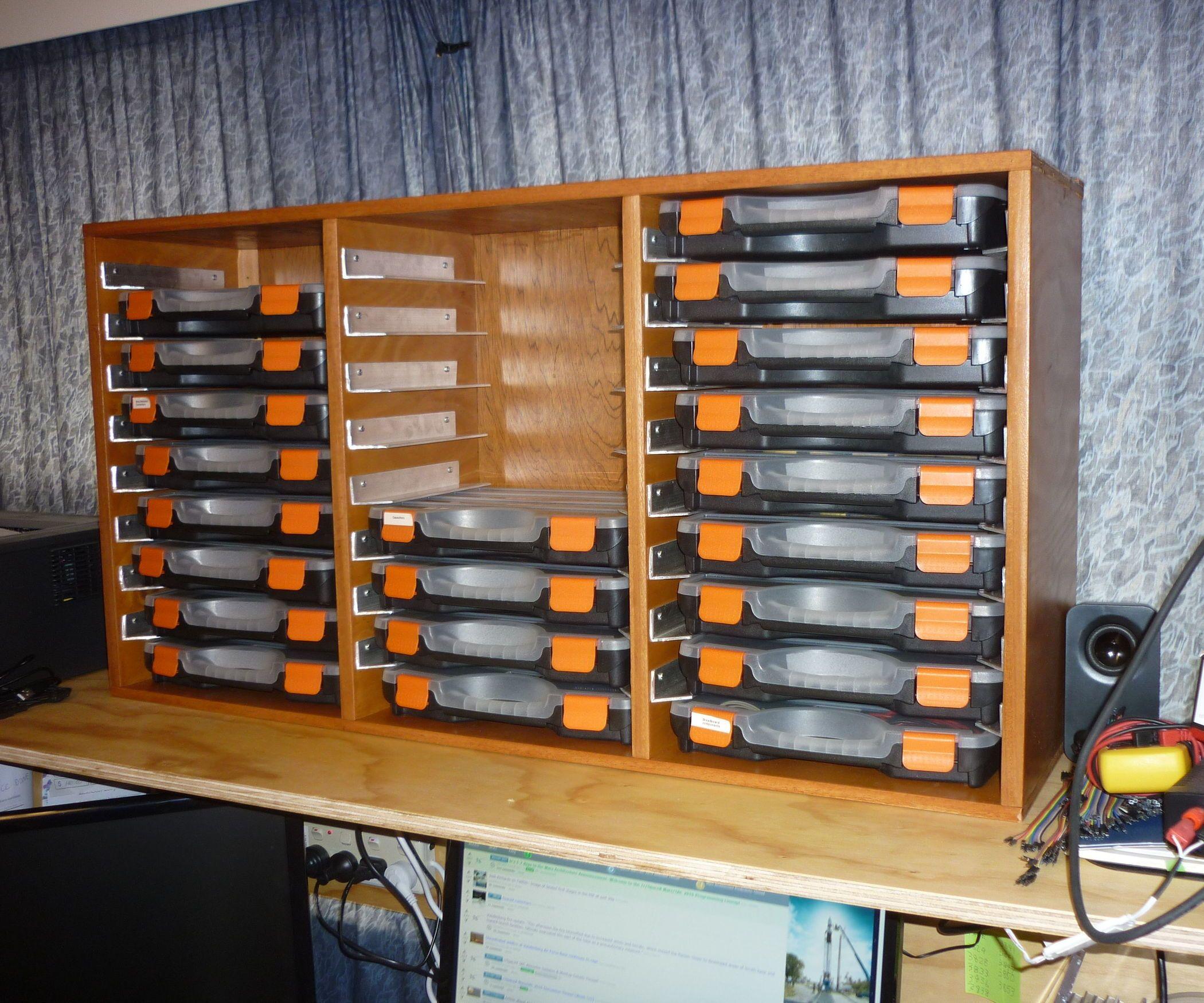 Electronics Components Storage Electronics Organization Storage Hardware Storage Storage