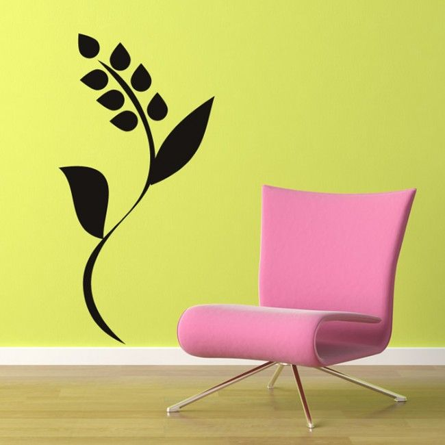 stem art | home / flower stem wall sticker nature wall art