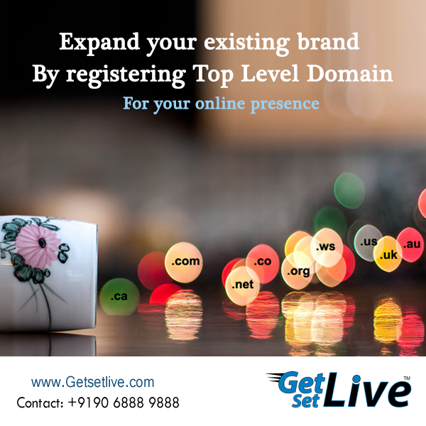 Your Domain Name Says A Lot About Your Business So Register Your Domain At Getsetlive And Bring Your Business In Online Worl Hosting Company Hosting Domain