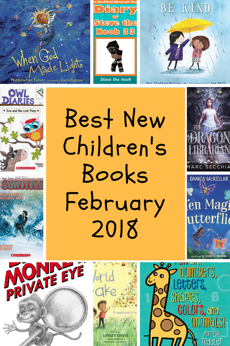 Best New Children S Books February 2018 Book Bonanza Childrens