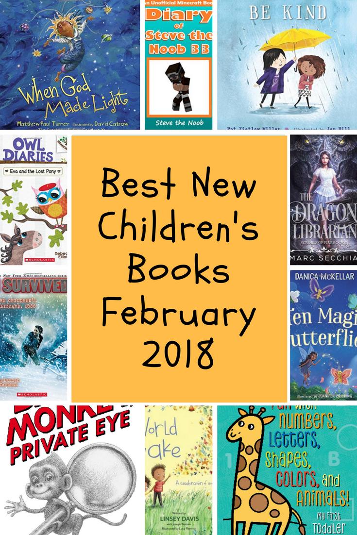 Best New Children S Books February 2018 Booklist Mania