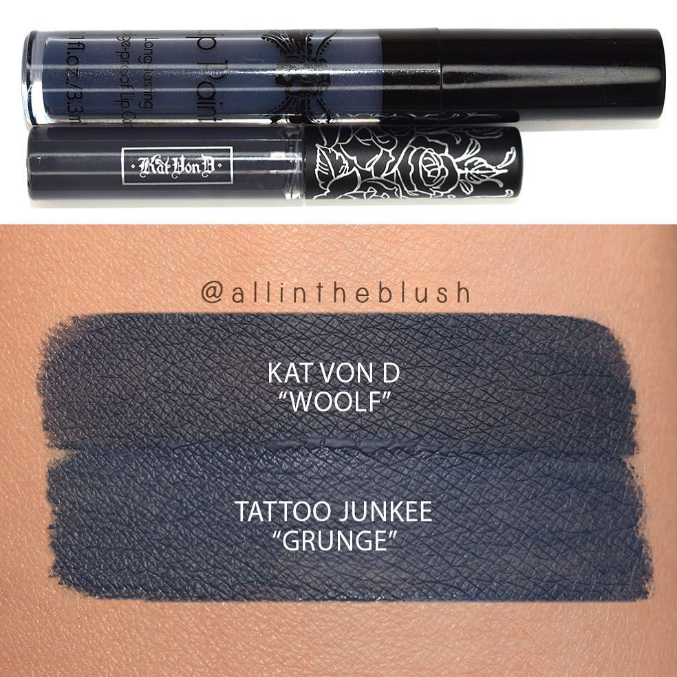 """Kat Von D """"Woolf"""" dupe Tattoo Junkee """"Grunge"""" via"""