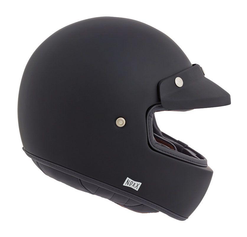 Nexx X G100 Purist Black Matt Casque Moto Integral Vintage