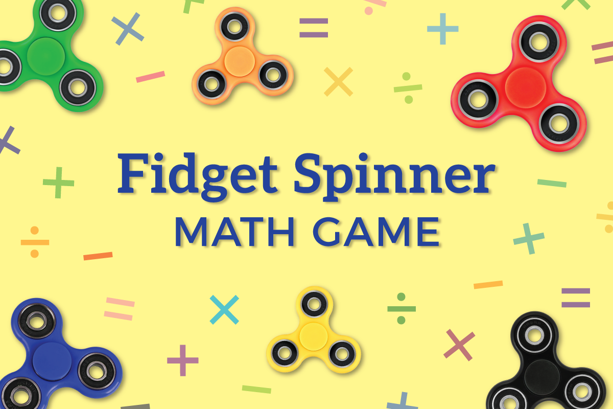 Fidget Spinner Math Facts How Many Can You Solve Before