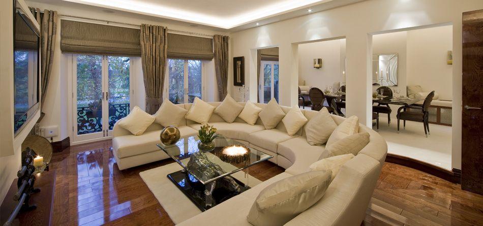 Love The Window Treatments Interior Decorating Living Room Luxury Living Room Big Living Rooms