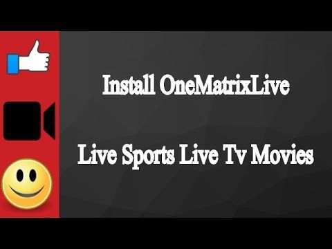 Install OneMatrixLive IPTV Addon For Live Tv And Movies Kodi
