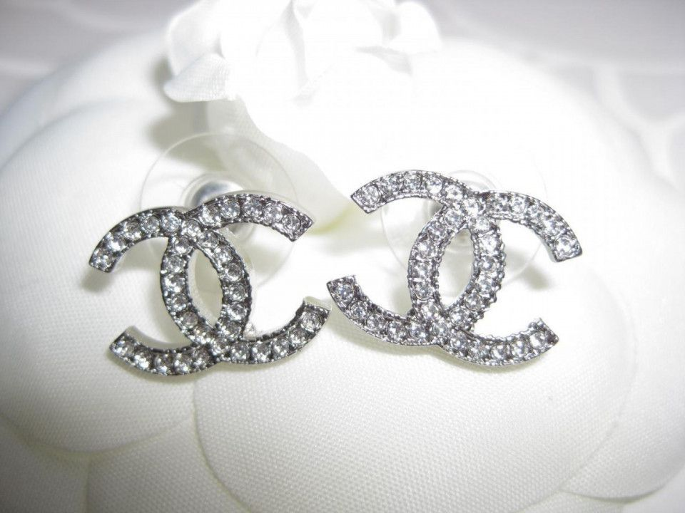 Unique Chanel Logo Diamond Earrings Check More At Http Lascrer