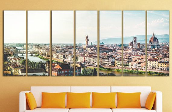 Florence Wall Art Florence Wall Decor Florence Canvas Florence Etsy Italy Wall Art Large Art Prints Extra Large Wall Art