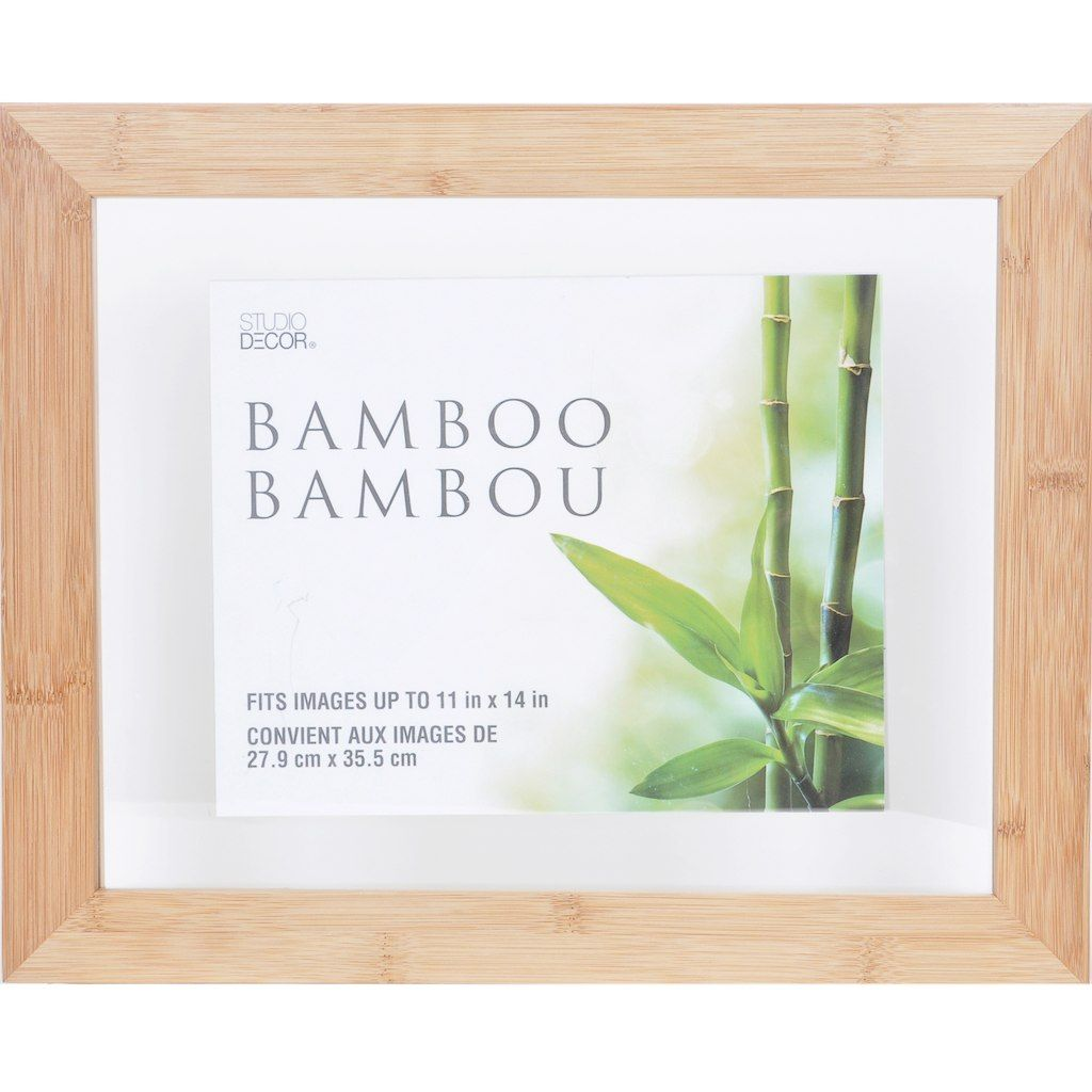 Bamboo Float Frame By Studio Decor 11x14 Studio Decor Frame Floating Frame
