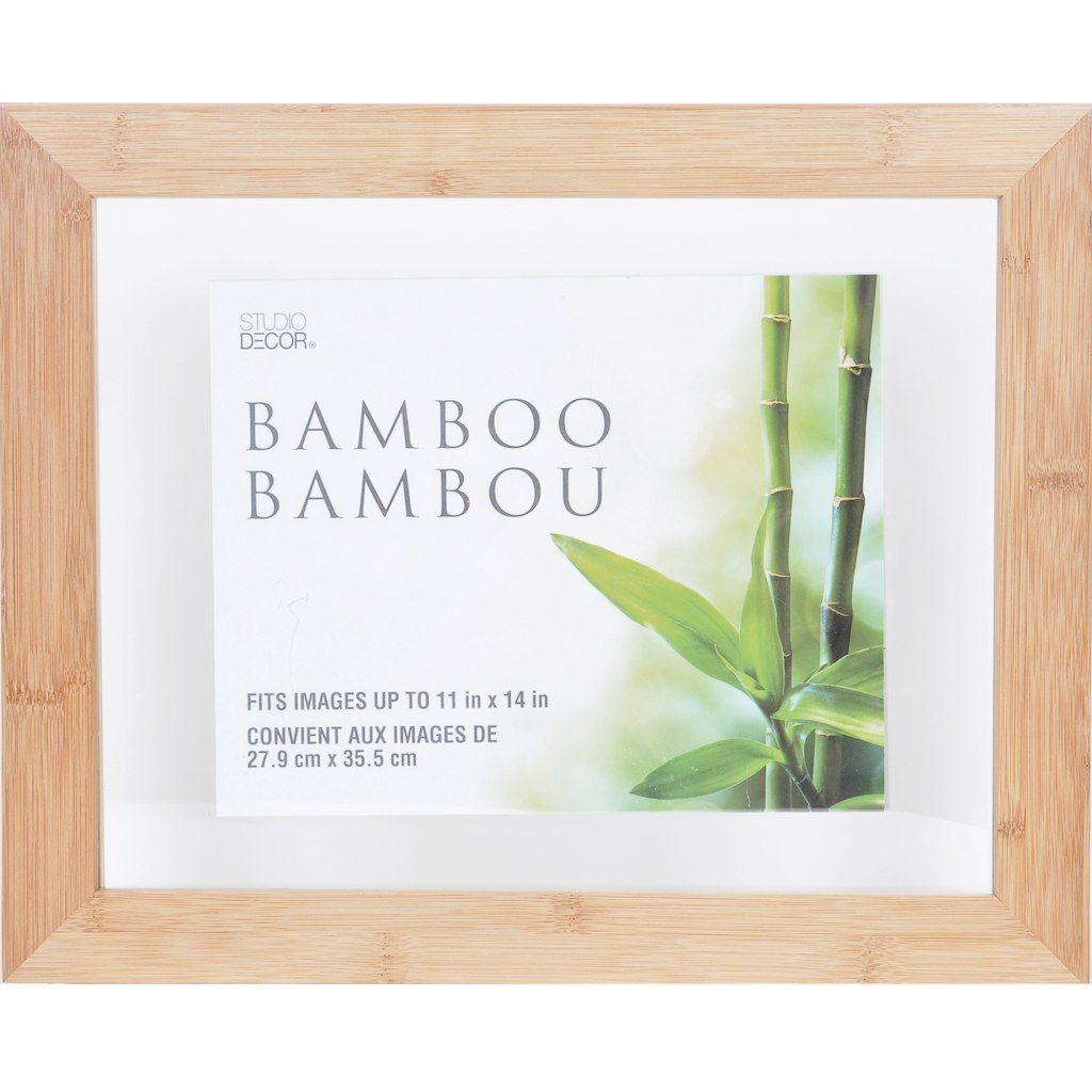 Bamboo Float Frame By Studio Decor 11x14 Studio Decor Frame Floating Frame