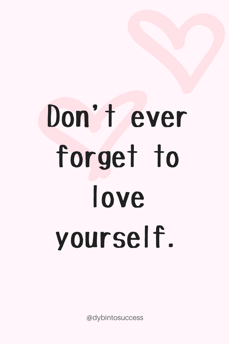 Love Yourself First Meme