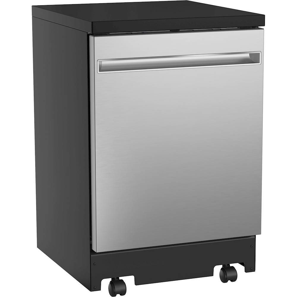 Ge 24 Portable Dishwasher Stainless Steel Gpt225sslss Best Buy In 2020 Portable Dishwasher Stainless Steel Dishwasher Portable Dishwashers