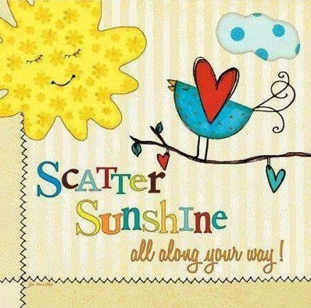 Scatter Sunshine!