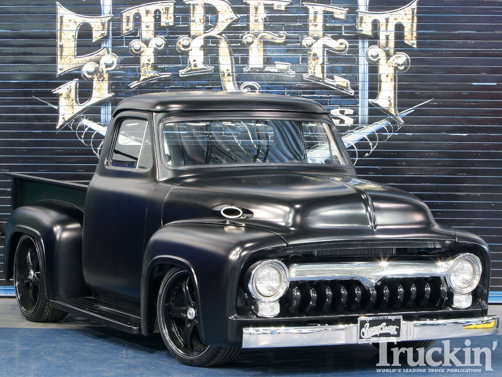 The Expendables 1955 Ford Truck 3 Trucks Pinterest F100 Lowrider