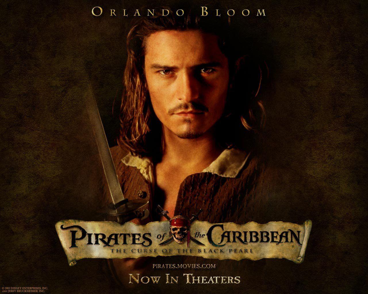Oboi Piraty Karibskogo Morya Proklyatie Chernoj Zhemchuzhiny Piraty Karibskogo Morya Orlando Blum Piraty