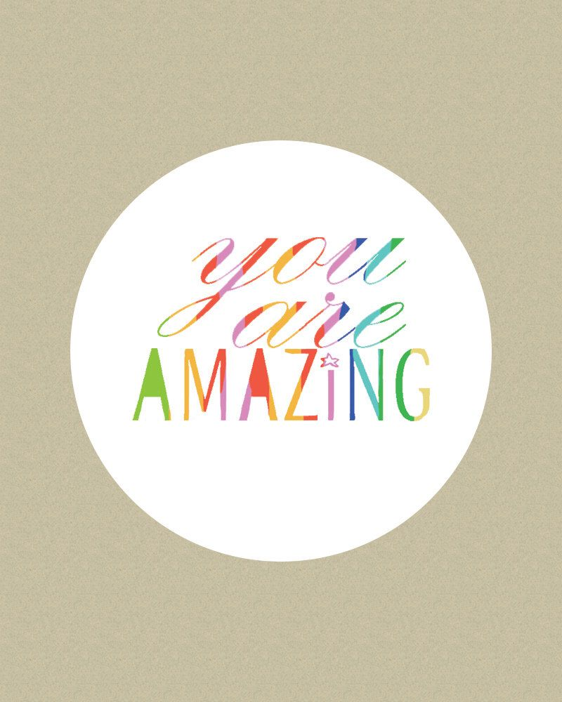 Stickers motivational labels teacher sticker you are amazing stickers colors stickers happy stickers party stickers custom