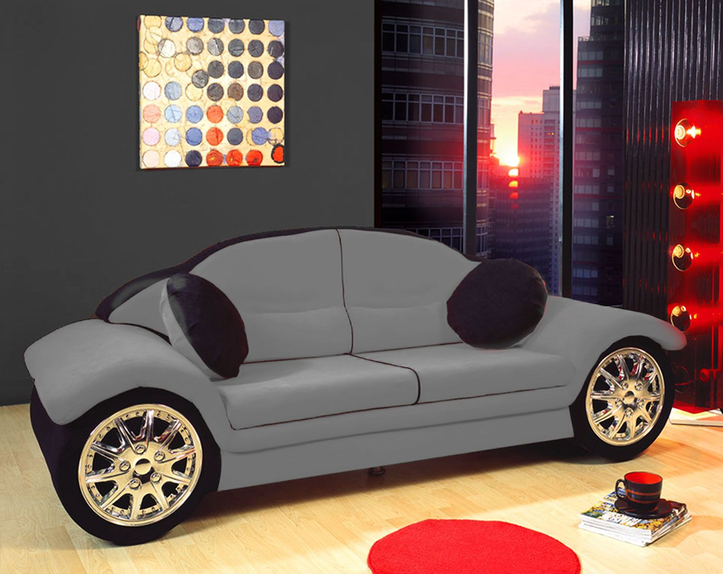 Car Sofa Bedrooms Pinterest # Muebles Raros Para Ninos