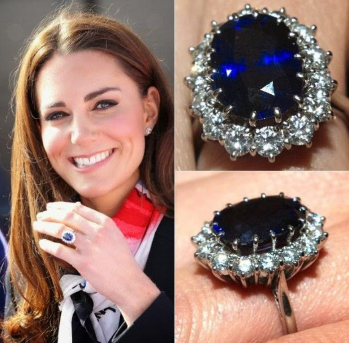 values eugenie engagement royal rings pri compared diana middleton queen kate meghan and princess markle ring the