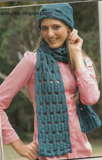 Tejiendo bonitas bufandas | crochet hombres | Pinterest | Bonitas ...